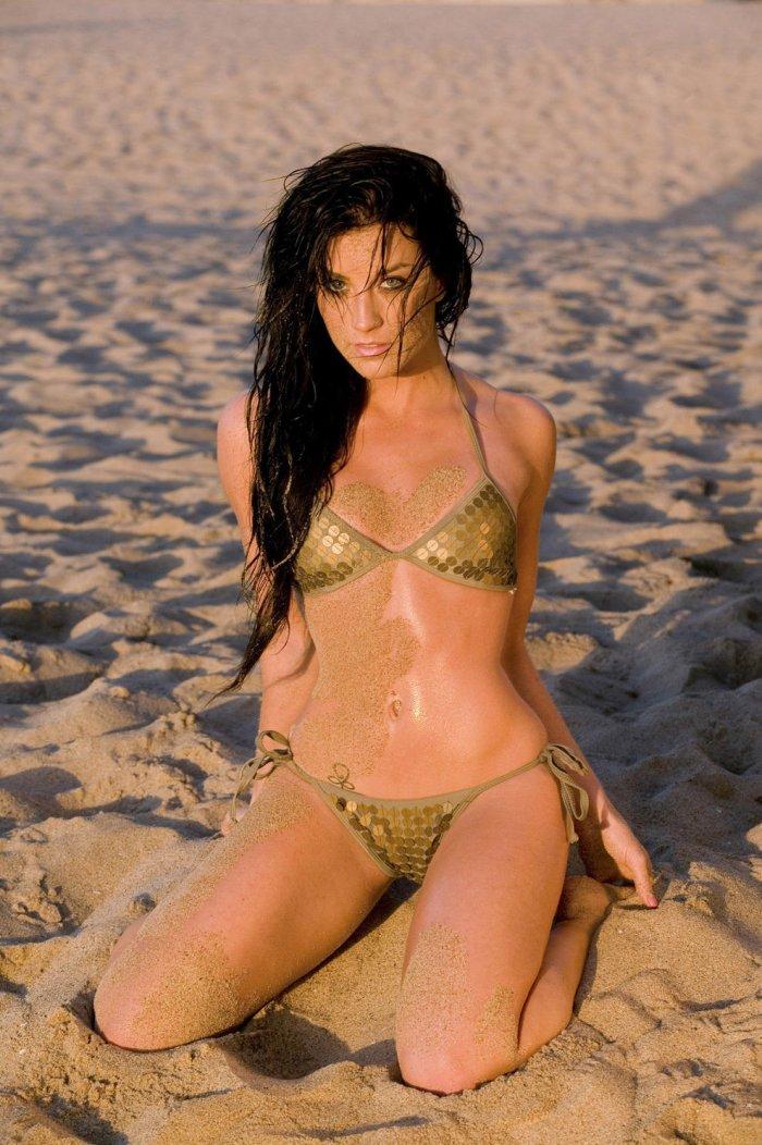 bikini babe from american idol № 273951