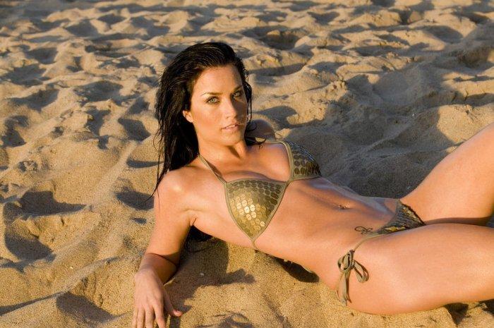 bikini babe from american idol № 273973