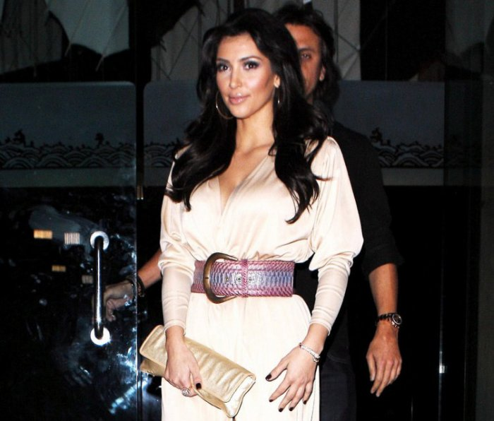 Хищная попка Kim Kardashian