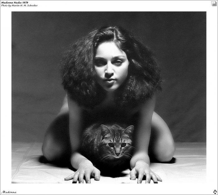 Скандальные фото Мадонны