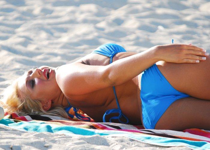 Брук Хоган (Brooke Hogan) в бикини