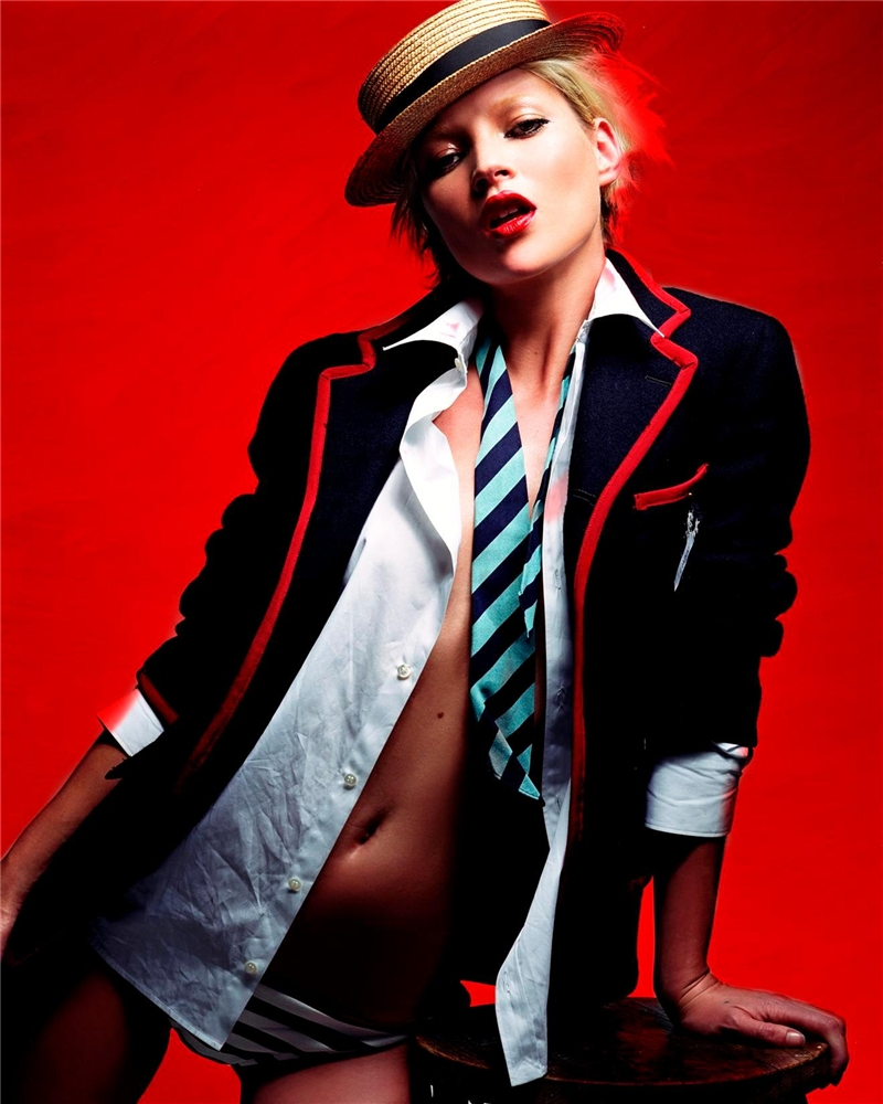 I-d june/july 2002: kate moss by craig mcdean