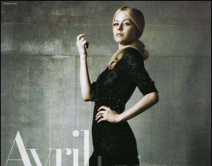 Avril Lavigne в журнале Bazaar