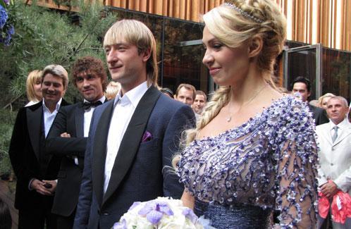 Рудковская и Плющенко - свадьба
