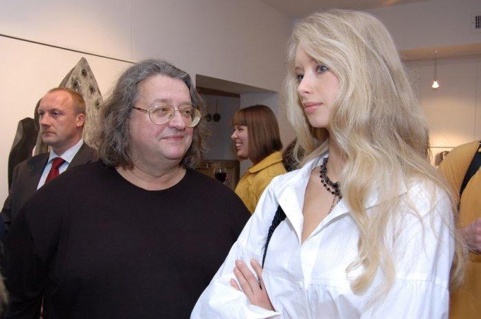 Александр Градский с женой
