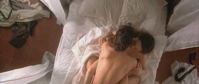 Джоли и Бандерас - сцена любви
