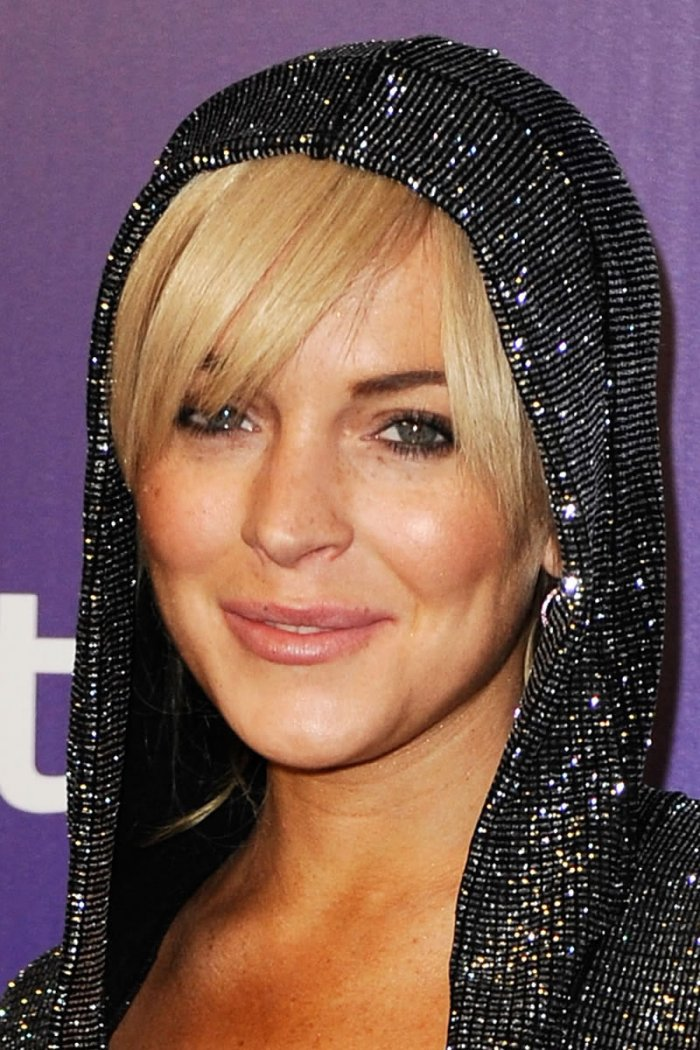 Lindsay Lohan на вечеринке Golden Globes