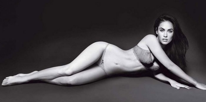 Megan Fox для Armani