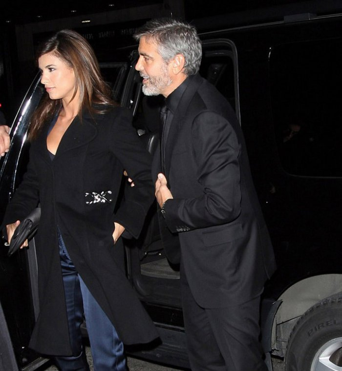 Джордж Клуни вышел из кабака