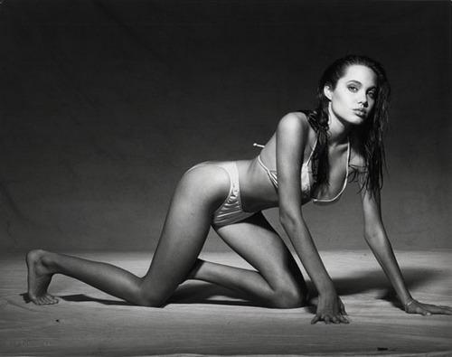 Молодая Анжелина Джоли