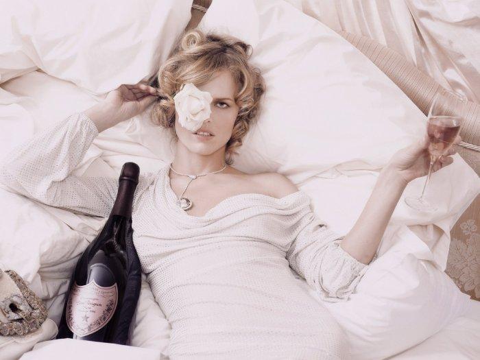 Eva Herzigova - Dom Perignon