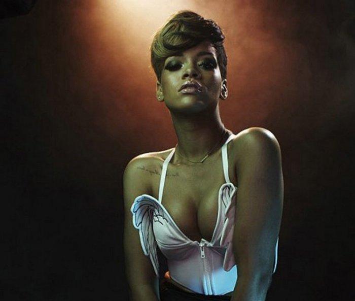 Rihanna в Rolling Stone