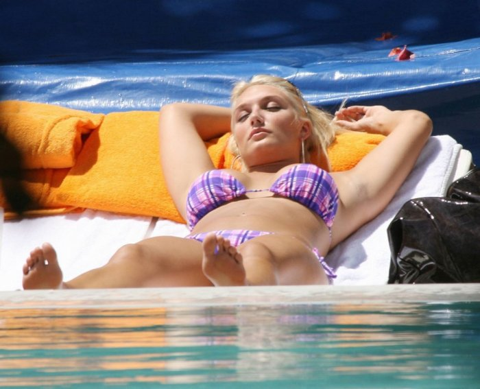 Brooke Hogan в бикини