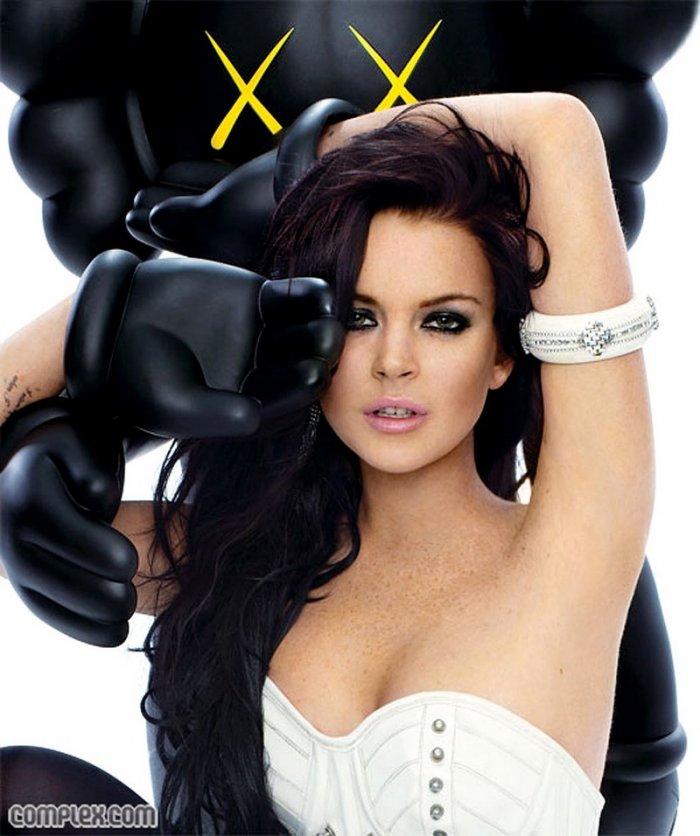 Lindsay Lohan в журнале Complex