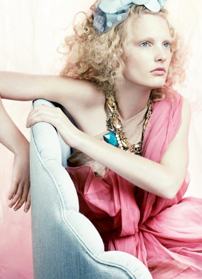Patricia van der Vliet в Vogue