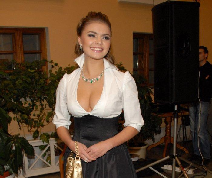 Улыбка Алины Кабаевой