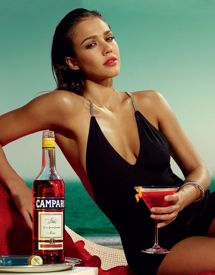 Jessica Alba - Campari