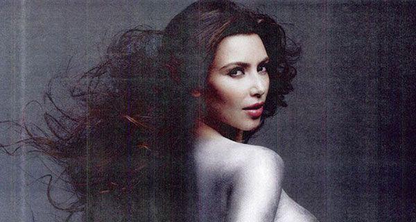 Голая королева Kim Kardashian