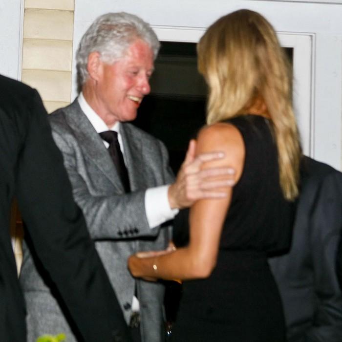Билл Клинтон и Камерон Диаз