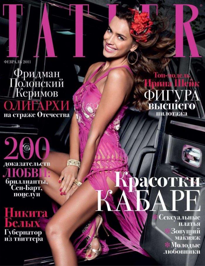 Irina Sheik - Tatler