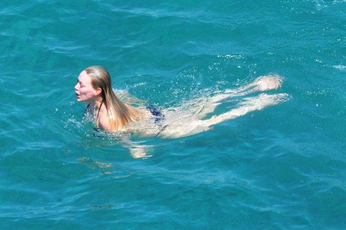 Hilary Duff на Капри