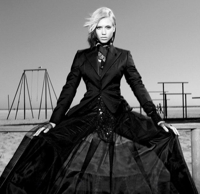 Джессика Альба - журнал Flaunt