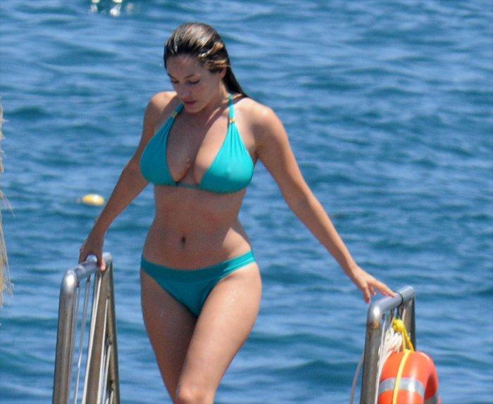 Келли Брук в Италии