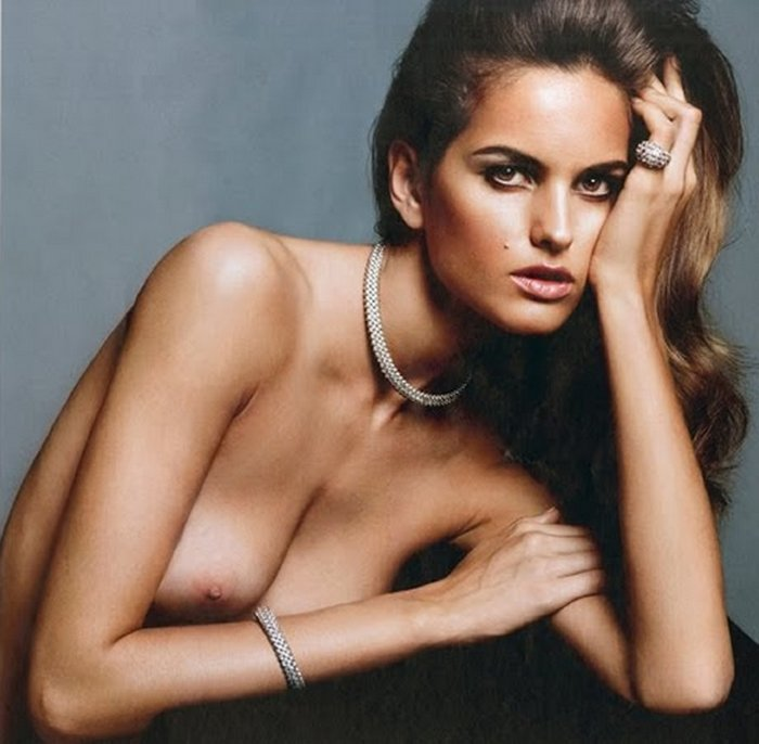 Izabel Goulart в Purple Magazine