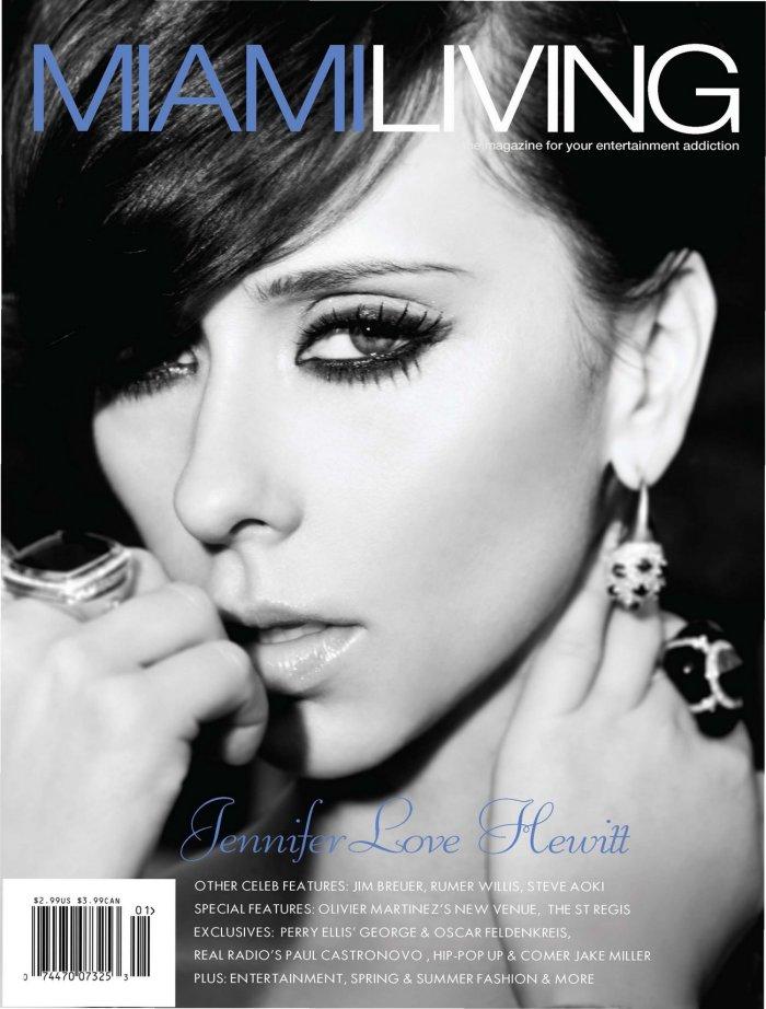 Jennifer Love Hewitt - Miami Living Magazine