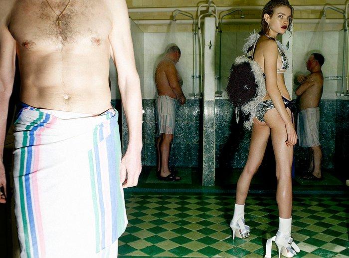 Наталья Водянова - Vogue UK