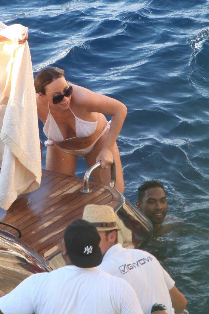 Mariah Carey в Италии