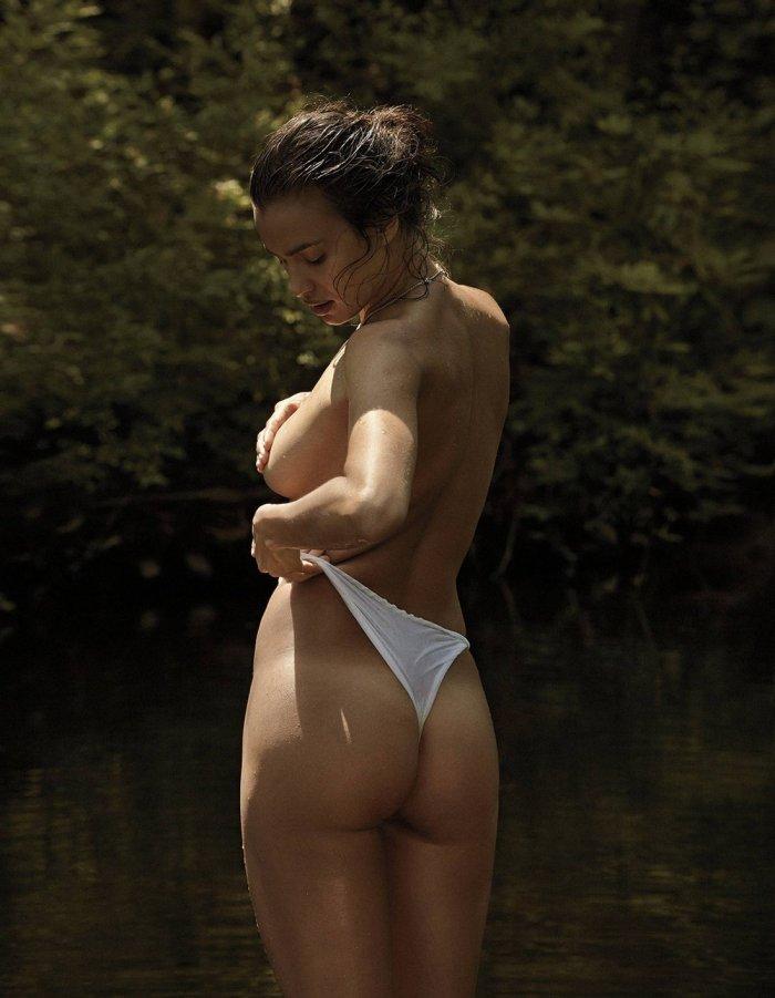 Irina Shayk в журнале V Man