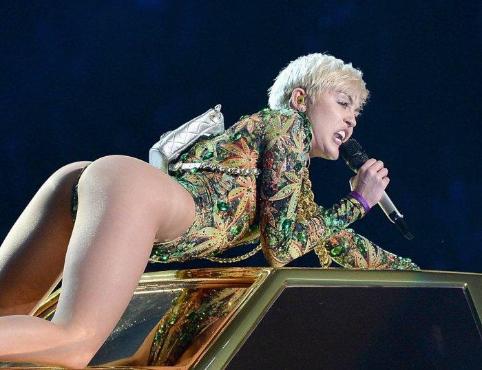 Miley Cyrus, концерт в Нью-Йорке