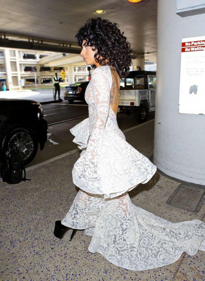 Lady Gaga прибыла