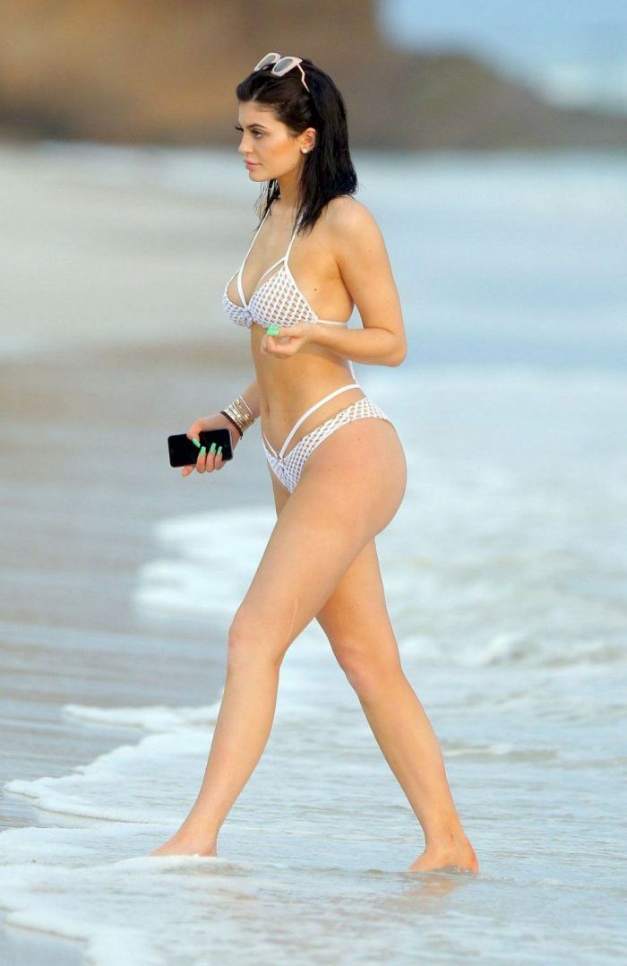 Kylie Jenner в бикини